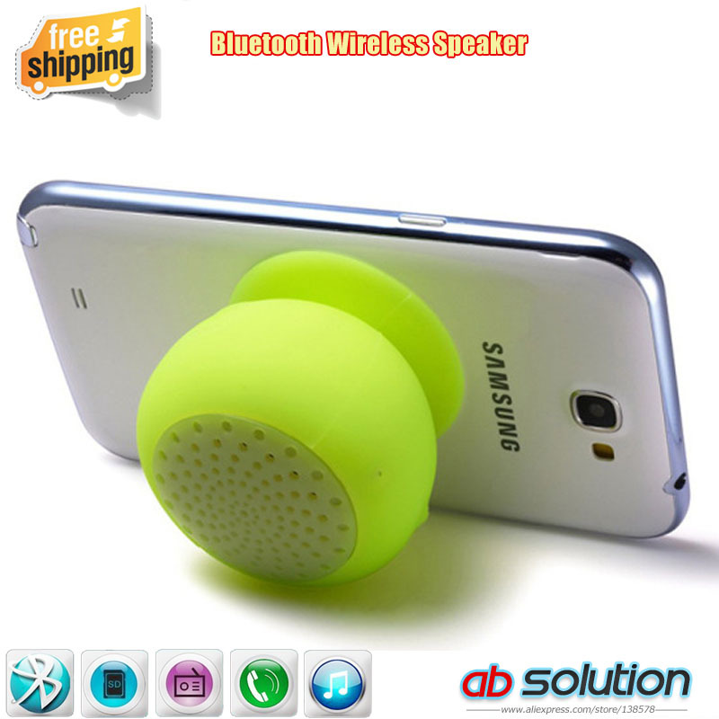 hot selling silica gel soft material portable wireless handfree mini sucker bluetooth speaker super adsorption phone PC - Shenzhen Absolution Gifts Co., Ltd. store