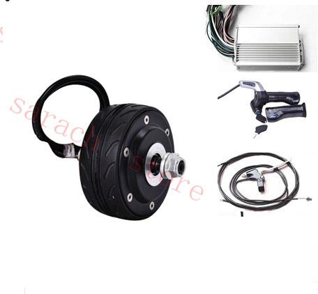 4 inch  150W  24V electric wheel hub motor ,electric scooter motor ,electric hub motor