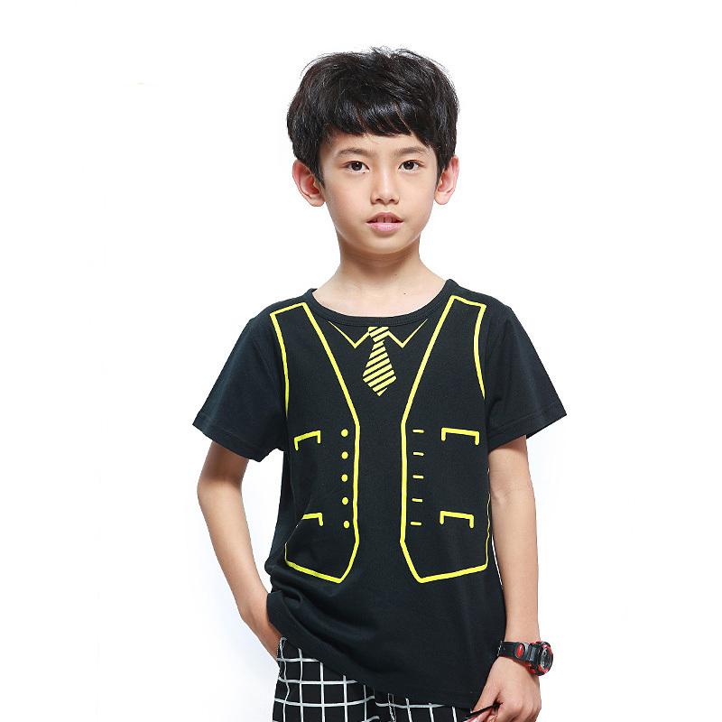 2015 Hot-sell Summer Fashion Boys T Shirt Cotton O-Neck Short Sleeves Tees Enfant Boy Clothes Short-sleeved Solid Tops(China (Mainland))