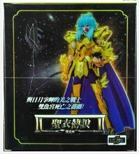 in stock S-Temple metal club Pisces Aphrodite glod Myth Cloth Ex action figure Saint Seiya model toy metal armor(China (Mainland))