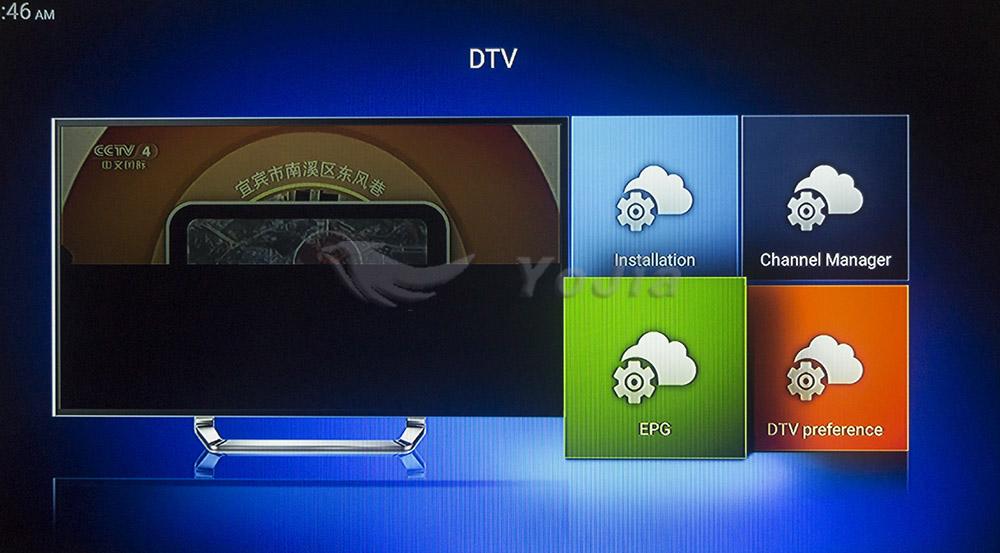 ถูก [ของแท้] KIบวก+ T2 S2 Amlogic S905 Quad core 64-bitหุ่นยนต์ทีวีกล่องสนับสนุนDVB-T2 DVB-S2 1กรัม/8กรัม1080จุด4พันCcamd Newcamd K1บวก