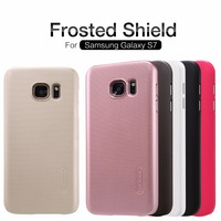 case for Samsung Galaxy S7 back cover case NILLKIN Super Frosted Shield with free screen protector and Retail package