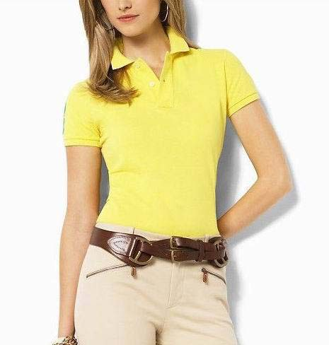 Good Quality 100%Cotton Women's Short Sleeve Polo Shirts Solid Turn Down Collar Blouses Horse Embroidery Logo 11Colors L,XL,XXL(China (Mainland))
