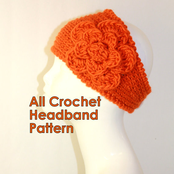 Crochet Hair Ribbon Pattern : Knit Flower Headband Pattern-Buy Cheap Knit Flower Headband Pattern ...