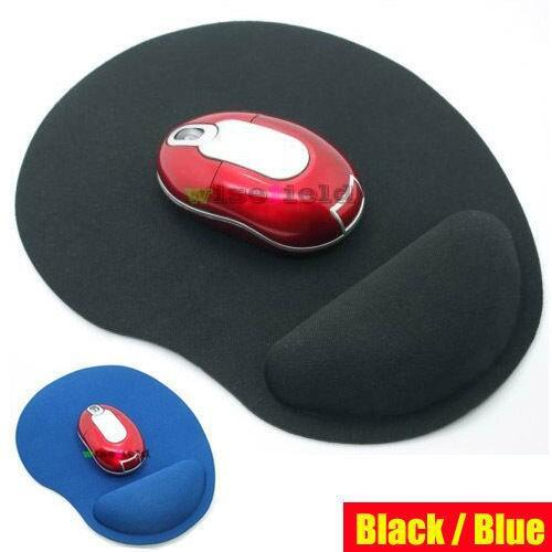 Wrist Comfort MousePad Mat Mice Mouse Pad for Optical Mouse ( 2 colors )(China (Mainland))