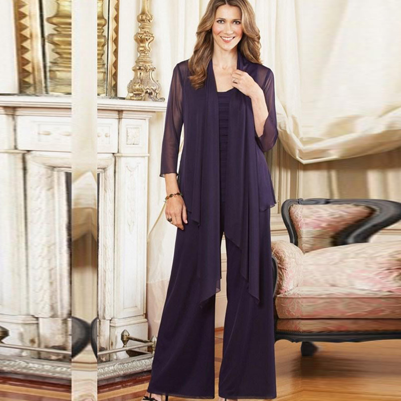 Plus Size Mother Of Groom Pant Suits - Wedding Dress Ideas