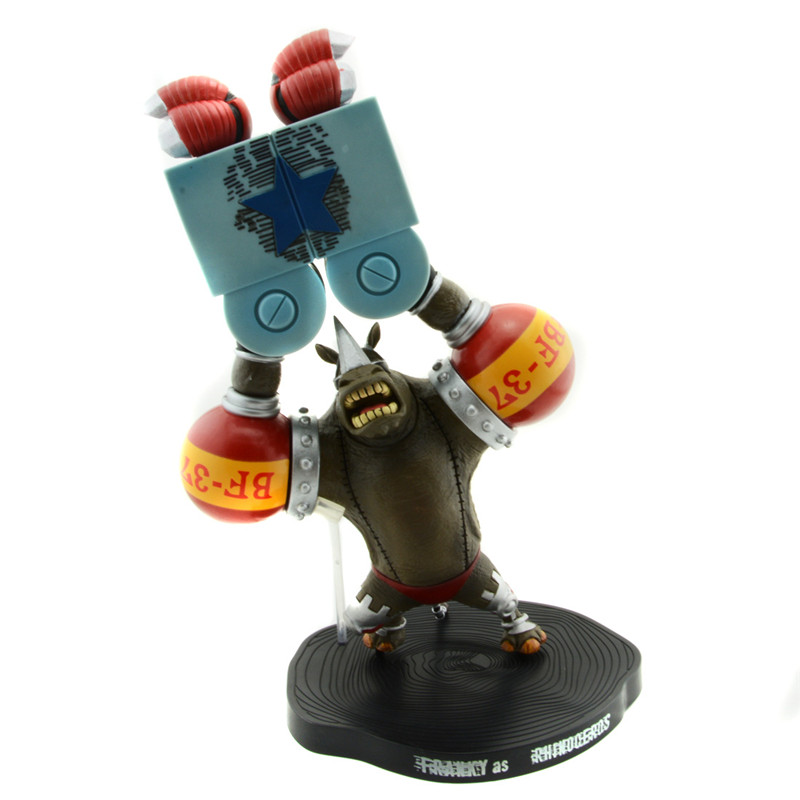 Starz One Piece 15th Anniversary Animal Series Franky Rhinoceros Ver. Anime Action Figures Collection Model Gifts Comic Toys<br><br>Aliexpress