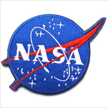 3d Embroidery Cloth Paste Nasa / Nasa -Sided Velcro Patch Armband Badge Military Patches Badges Velcro Morale Patches