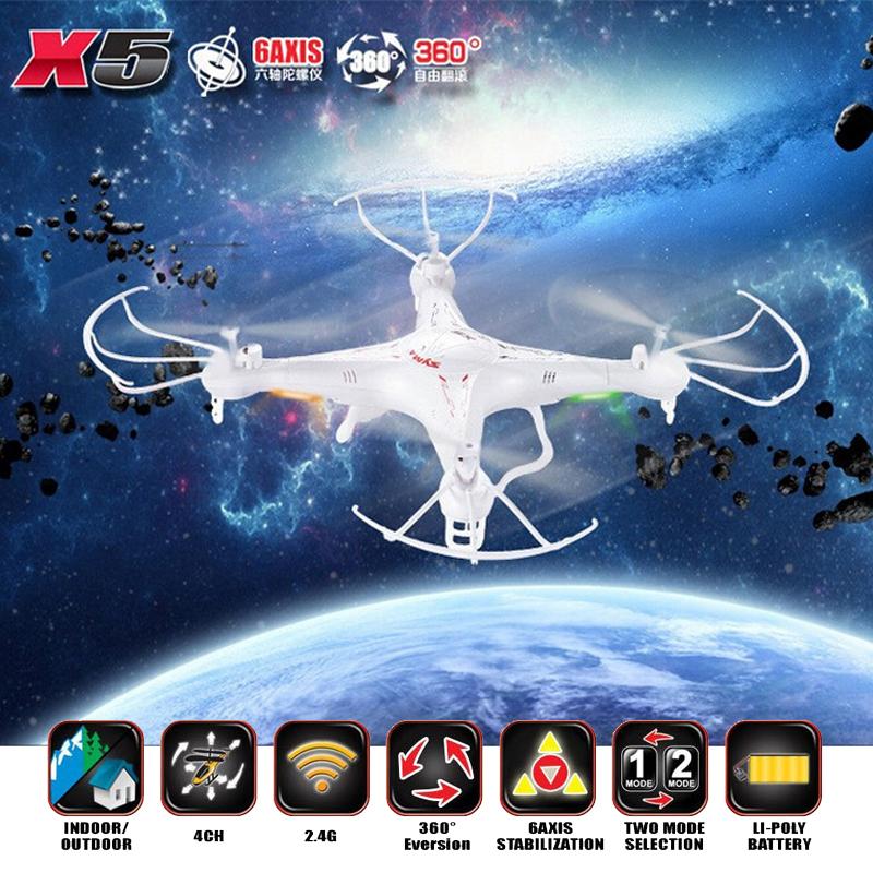 Original SYMA X5 RC Helicopter Drone Quadcopter 2.4GHz 4CH 6 Axis RTF Remote Control Professional Dron Toys No Camera 2015 New(China (Mainland))