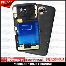 New! Original w/ Logo BLACK Rear Battery Housing Back Cover Case Door + Volume & Power Buttons for HTC One X S720E G23 PJ83100(China (Mainland))