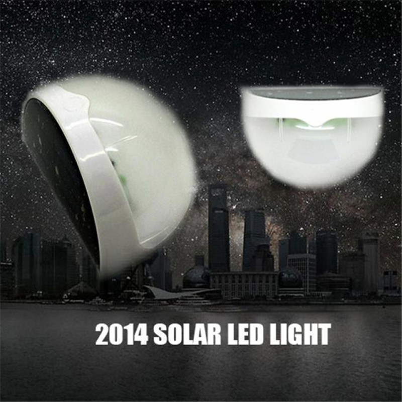 High Quality Outdoor Solar Power LED Fence Light Optically Controlled Wall La