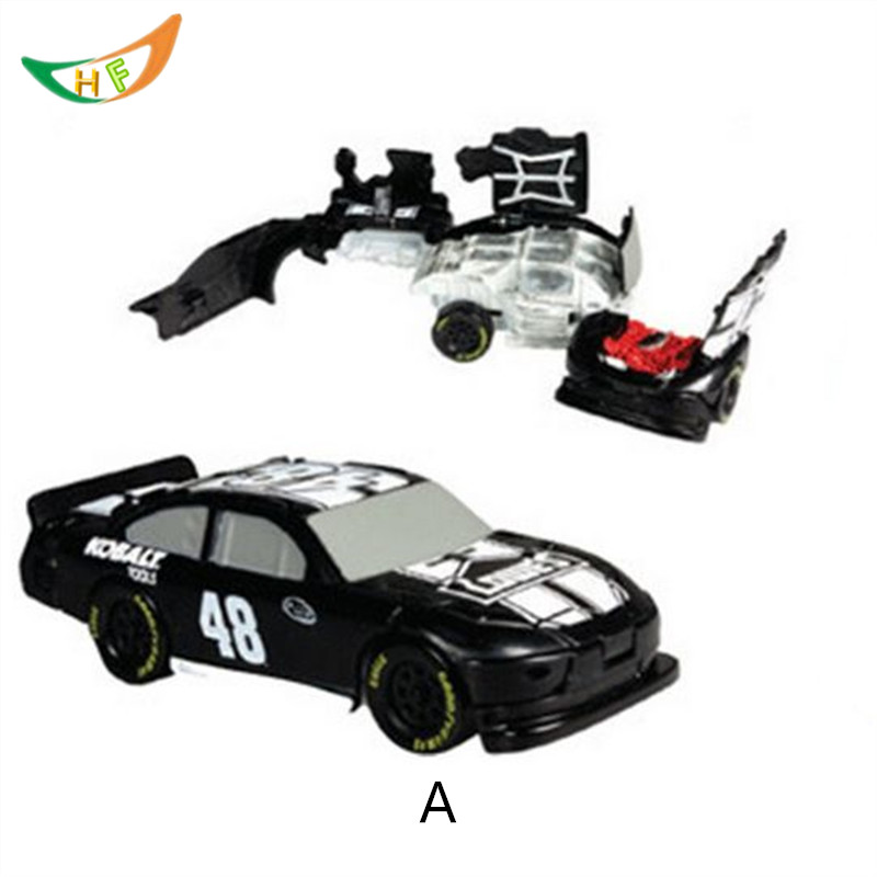 NASCAR BASHERS Competition 1:64 Alloy car model Catapult explosion burst car collision car accident oyuncak boys Christmas gift(China (Mainland))