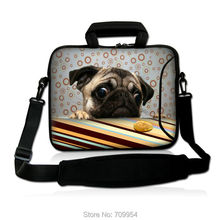 """Buy Neoprene Cute Dog Shape Computer Handle Case 10""""13""""14""""15""""17"""" Laptop Shoulder Bag Cover Pouch Sleeve Lenovo Macbook Acer Asus for $19.99 in AliExpress store"""