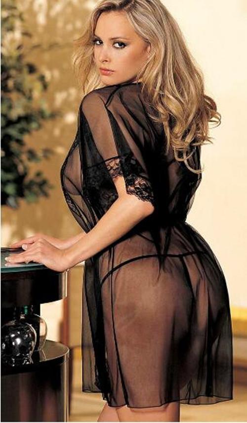 New Plus Size Women s Sexy Lingerie font b Babydoll b font Sleepwear Underwear Lace Dress