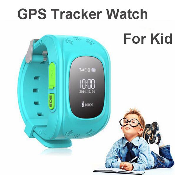 New HQ Mini GPS Tracker Watch For Kids SOS Emergency Anti Lost GSM Smart Mobile Phone App Bracelet Wristband Alarm(China (Mainland))