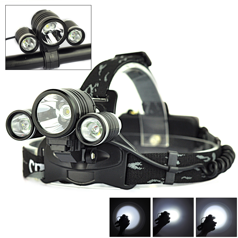 5000LM High Power 3* XML T6 LED Bike Front Head Light Lamp Cycling Headlamp for Bicycle ,Wholesale<br><br>Aliexpress
