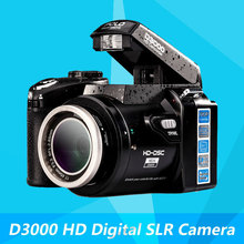 D3000 Digital Camera 16 Million Pixel Camera Professional SLR Camera 21X Optical Zoom HD LED Headlamps(China (Mainland))