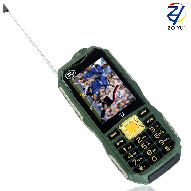 ZOYU C12 land rove business phone the flashlights phone for senior phone 11800 power bank 2Gdual sim dual standby mobile phones(China (Mainland))