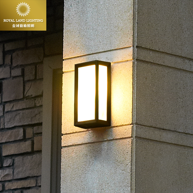 Wall Lights Europe : European Style Villa Garden Wall Light Outdoor Wall Lamp Waterproof Balcony Aluminum Wall Lamp ...