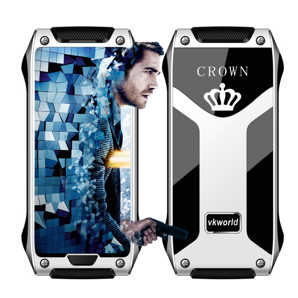 Original Vkworld Crown V8 World Mobile Phone Gorilla Glass OLED Thermal Touch Screen Support TV Pedometer Bluetooth Call Celular(China (Mainland))