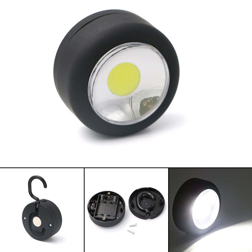 Mini Portable Lanterns Pocket Flashlight Torch LED Flashlight For Outdoor Camping Emergencies Magnet Hanging Lamp Lights