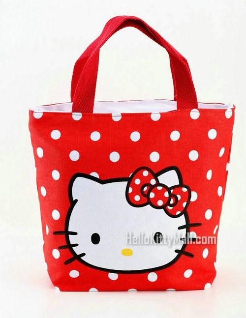 Sanrio Hello Kitty 2014 New Women Travel Bags Women Handbag Canvas Bag Women Shopping Bag Travel Bags Women Tote(China (Mainland))