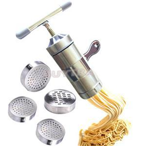 2015 New Designer Stainless Steel Noodle Maker Manual Pasta Tool Machine Maker(China (Mainland))