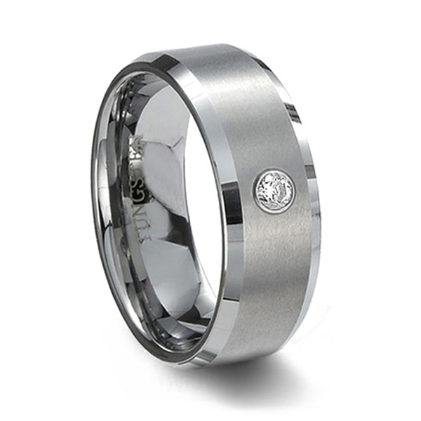 Ti accessories tungsten bars and rods rings male lovers ring rhinestone knife flower lettering<br><br>Aliexpress