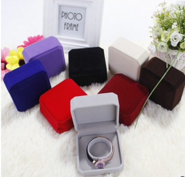 Velvet bracelet box velvet bracelet box velvet box upscale fashion multicolor velvet jewelry boxes(China (Mainland))