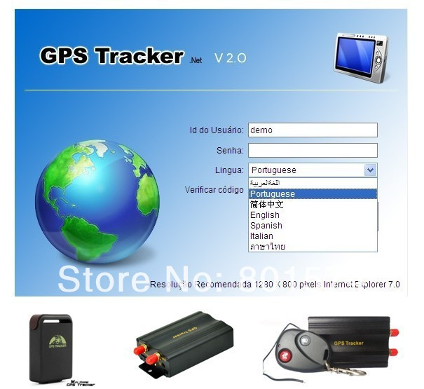 web-based gps tracking software on www.gpstrackerxyz.com for gps tracker tk102,tk103,tk104,tk106 annual fee(China (Mainland))