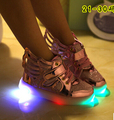 Light flash shoes children wings shoes sneakers students led the boy girl Led Kids Children Shoes