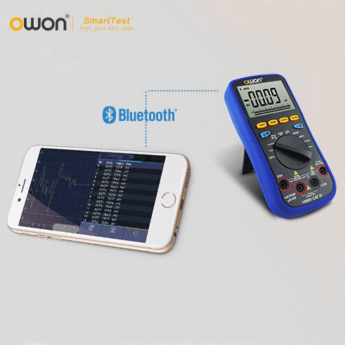 Мультиметр OWON B35 Bluetooth 3 1 ios B35T осциллограф owon hds1021m