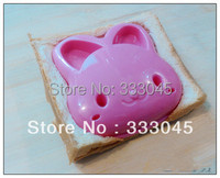 FREE shipping DIY rabbit shaped cake mold bread sandwich toast cutter stamp bento japanese kitchen accessories DIY gadget punch