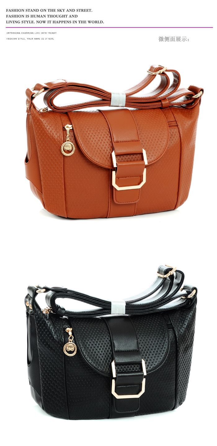New 2014 Fashion Multifunction Women Leather Handbag Messenger