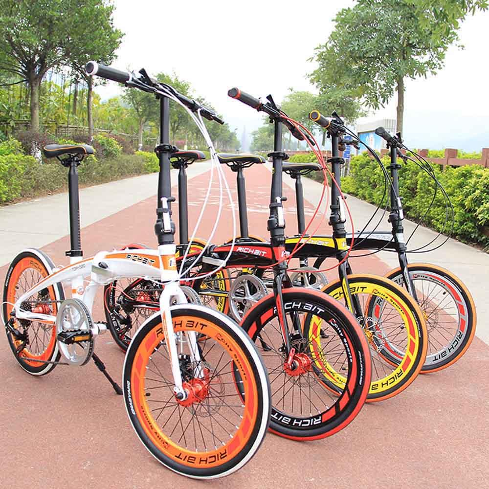 RT-20 20'' Folding Bike Bicycle SHIMAN0 7Gears Portable City Sports Bike Mechanical Brakes Mini Foldable Bicycle Christmas Gift(China (Mainland))