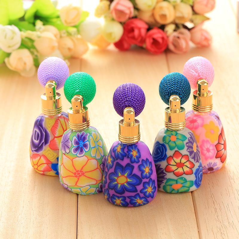 2016 Hot Sale 12ml Fashion Perfume Atomizer Empty Refillable Scent Devider Vintage Bottle Spray Random Hot High Quality(China (Mainland))