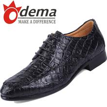 Nouvelle arrivée 2015 hommes crocodile Oxfords mode pointu chaussures plates Casual Lace Up hommes chaussures en cuir(China (Mainland))