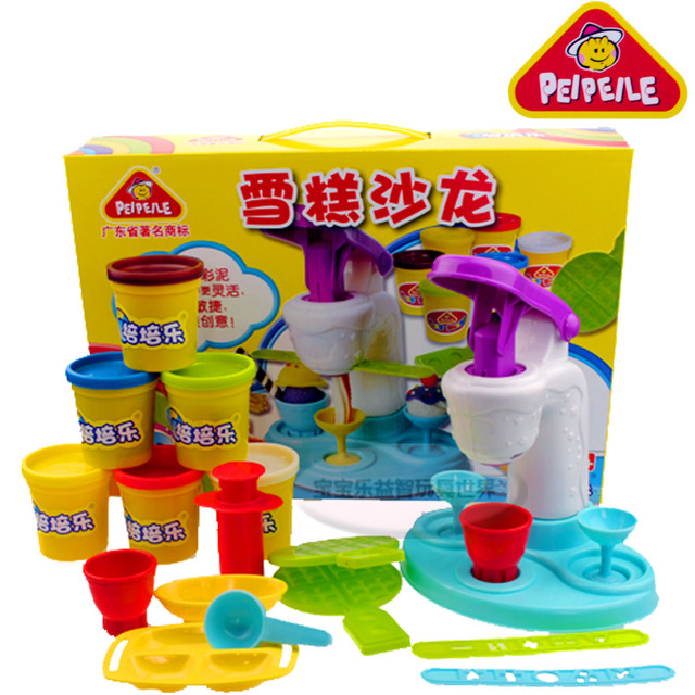Dough Ice cream machine color clay plasticine 6 tank color clay toy educational children toy