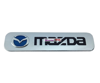 10pcs 10/lot Metal Hood Front Grille Grill Badge Emblem For MS Mazda 2 3 5 6 CX 5 7 Mazda6 Free Shipping High Quality Wholesale