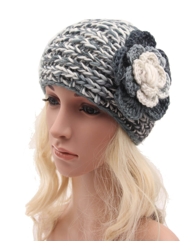 Crochet Hair Retailers : .com : Buy Retail Women winter crochet headwrap Camellia hair ...