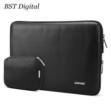 11 13 15 inch Notebook Laptop Sleeve bag Leather case cover for 11.6 13.3 15.4 macbook air pro retina(China (Mainland))