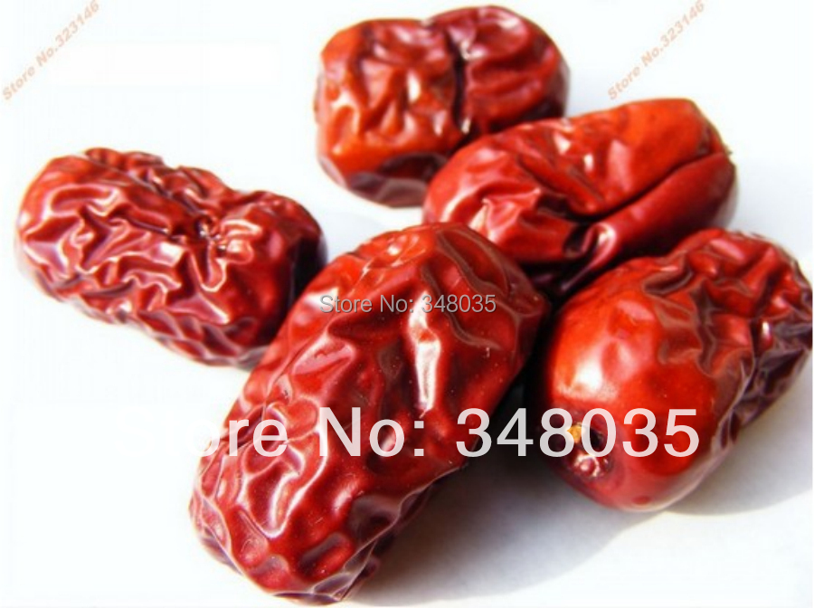 Original big red dry dates from xinjiang jujube bag organic dried fruit for herbal function