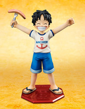 Buy Anime One Piece POP Monkey D Luffy Childhood ver. PVC Action Figure Collectible Model Toy 10cm for $10.69 in AliExpress store