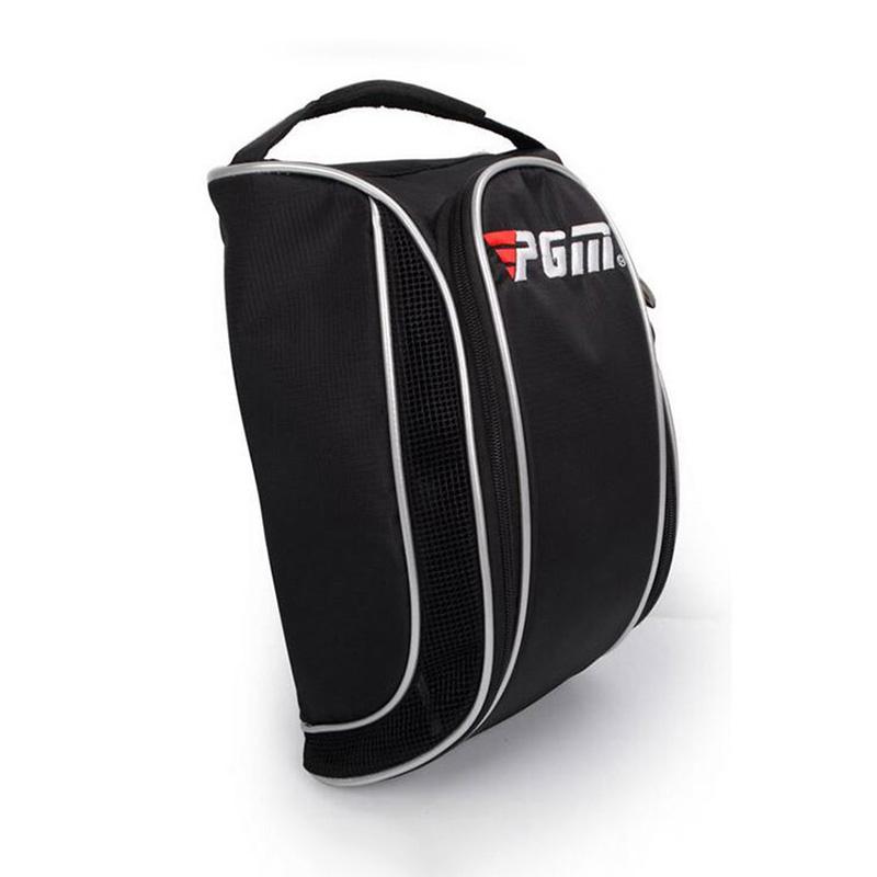 Drop Shipping Breathable Golf Shoes Bag Outdoor Sports Shoes Package Durable Travel Handbag Bolsas Zapatos 23*34*18CM(China (Mainland))