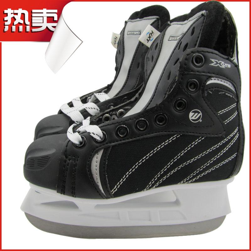 Child ball knife shoes xlite ball knife ice skates skate shoes skates slapshot knife shoes ice hockey belt(China (Mainland))