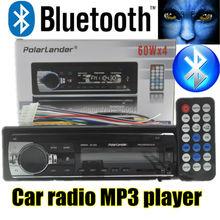 new 12V Car radio bluetooth Stereo bluetooth FM Radio MP3 Audio Player USB SD MMC Port Car radio bluetooth In-Dash one DIN size(China (Mainland))