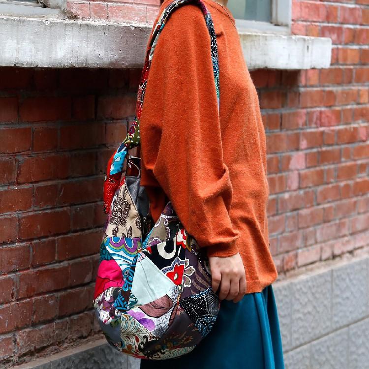 Bohemian Hippie Cloth Crossbody Shoulder Bag women shoulder woman  bags (17)