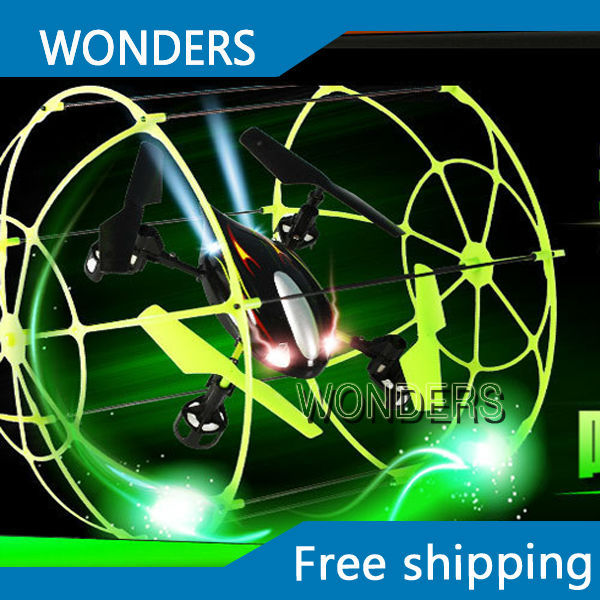 Sky Walker 4 CH RC Quadcopter Flying Climbing Helicopter Running floor wall Matrix
