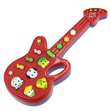 HOT Electronic Guitar Toy Nursery Rhyme Music Children Baby Kids Gift SEP 02(China (Mainland))
