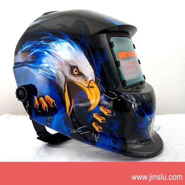 Free Shipping Darkening Welding Helmet Mask Welders Arc Tig Mig Grinding Solar Powered For Welders Mask(China (Mainland))